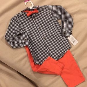 NWT Just 1 You by Carter's Three piece set, 3t